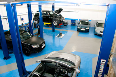 Vehicle Servicing & Maintenance garage