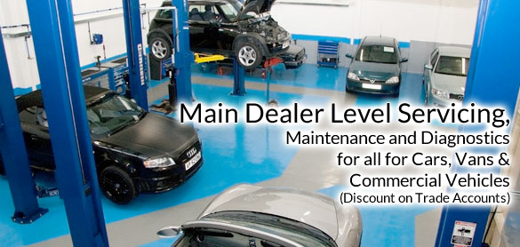 main dealer level servicing